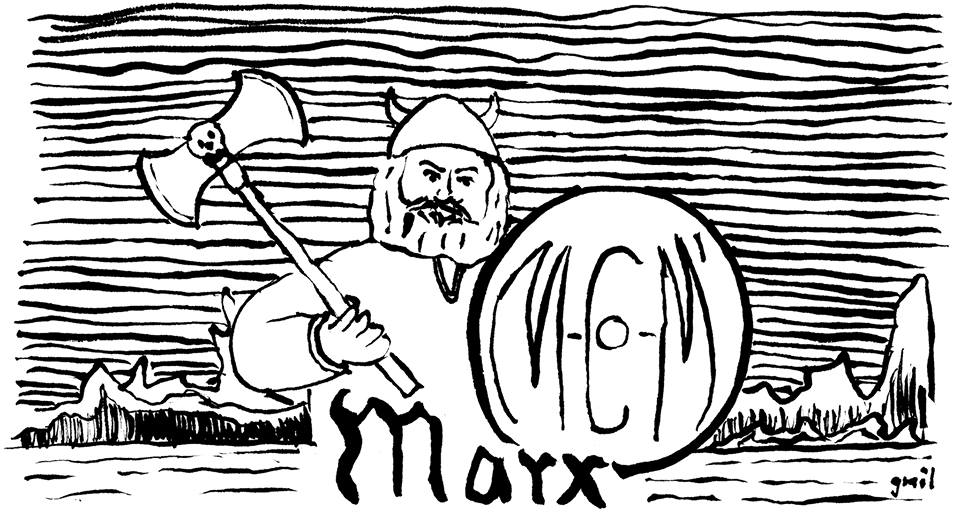 Karl Marx the Viking Man